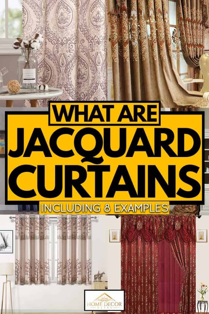 What Are Jacquard Curtains? [Inc. 8 examples]