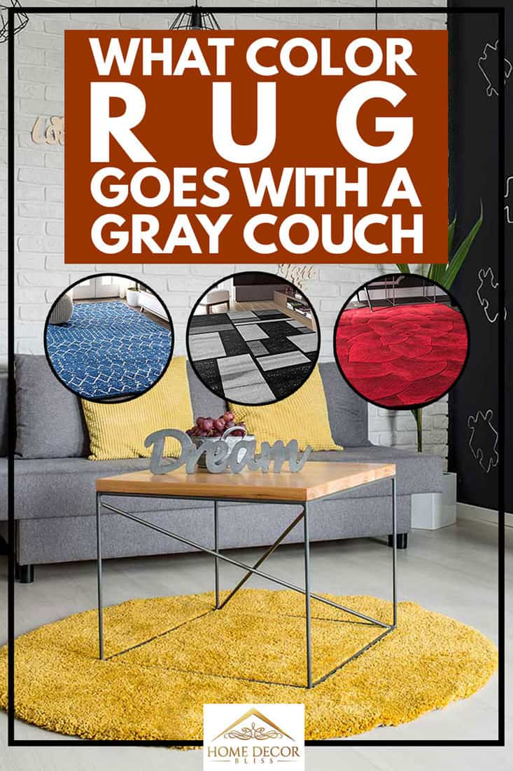 What Color Rug Goes With a Gray Couch