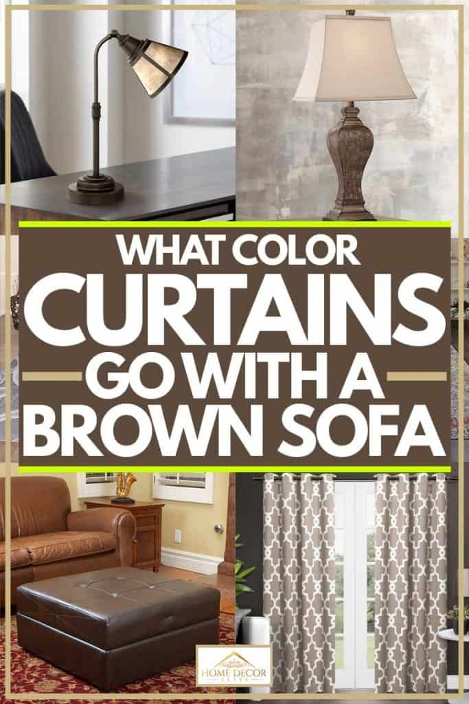 What Color Curtains Go With A Brown Sofa?