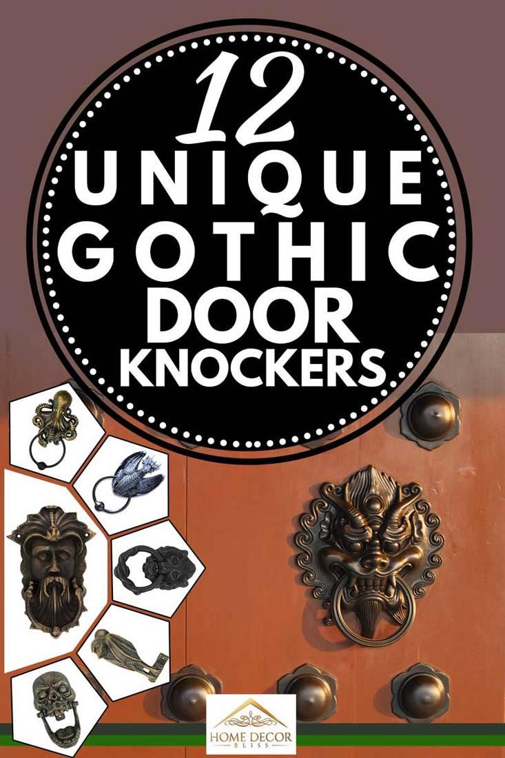 12 Unique Gothic Door Knockers