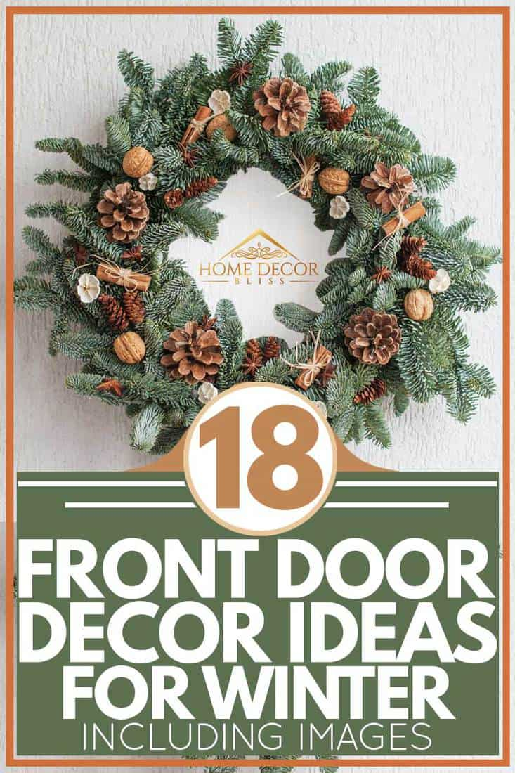 18 Front Door Decor Ideas For Winter Inc Images Home Decor Bliss