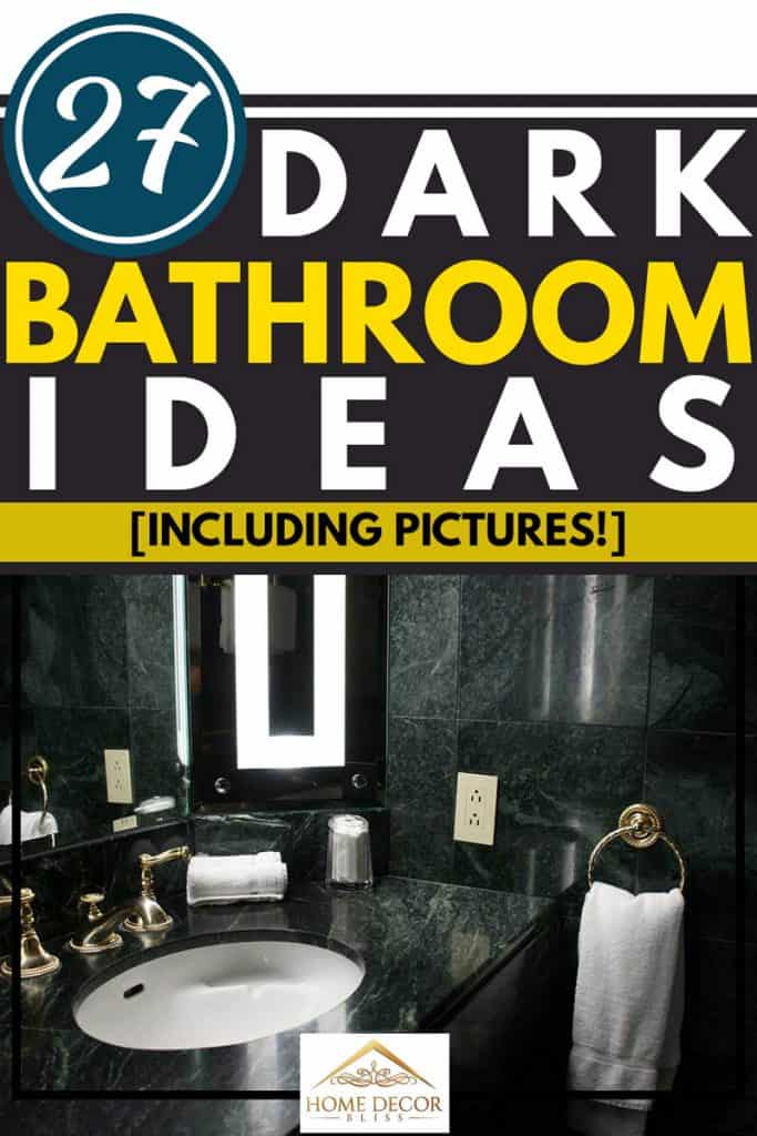 27 Dark Bathroom Ideas Including Pictures Home Decor Bliss