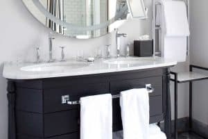 Should A Bathroom Vanity Be Against A Wall?