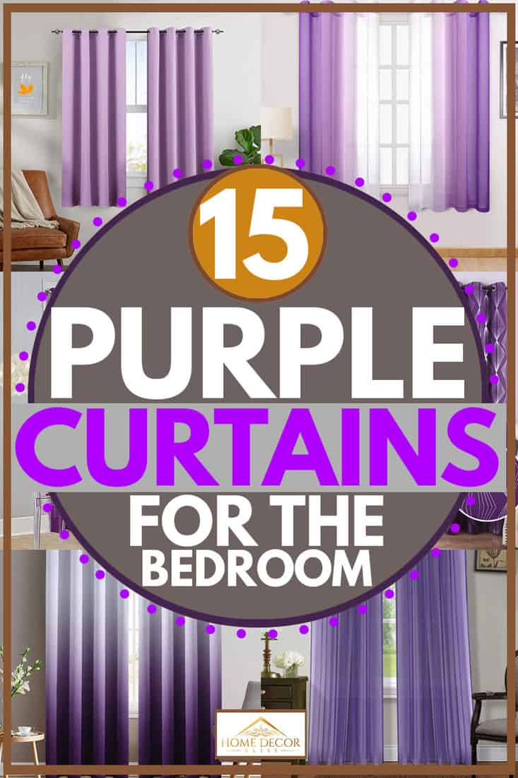 Purple curtain products suitable for bedrooms, 15 Purple Curtains For The Bedroom