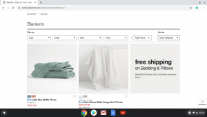 Crate & Barrel product page