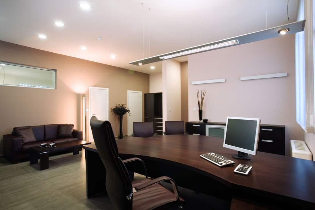 Elegant and luxury office interior design. Please feel welcome to check out my huge quality library of interior design pictures.