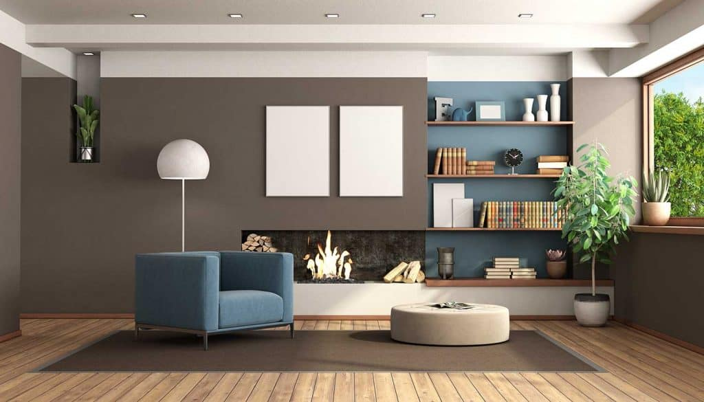 11 Accent Wall Ideas For The Living, Accent Wall Living Room