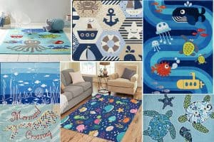 Nautical-Themed Rugs For The Nursery