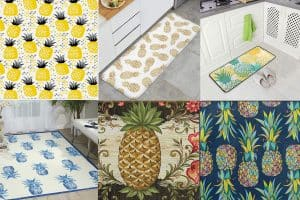 15 Pineapple-Themed Kitchen Rugs You Need To See Now