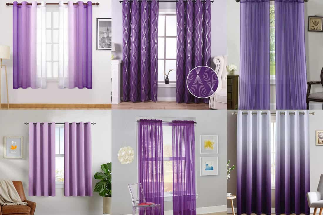 15 Purple Curtains For The Bedroom Home Decor Bliss