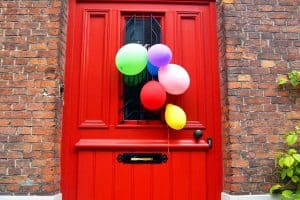 How To Decorate A Door For A Birthday Party?
