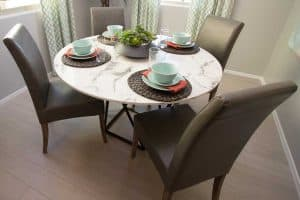 Read more about the article How to Decorate a Dining Table [When It's Not in Use]