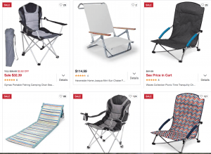Overstock.com website product page