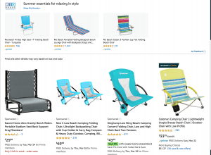 Amazon website product page