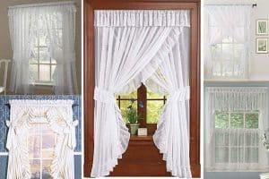 What are Priscilla Curtains?