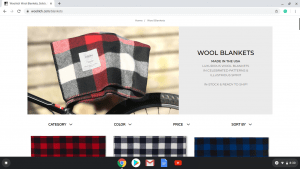 Woolrich website product page