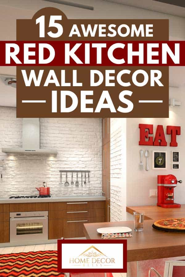 15 Awesome Red Kitchen Wall Decor Ideas Home Decor Bliss
