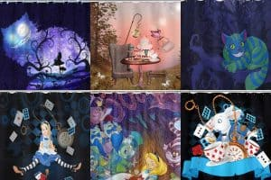 12 Alice In Wonderland Shower Curtains You Should See