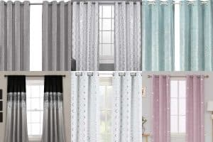 10 Stunning Metallic Glitter & Sequin Curtains
