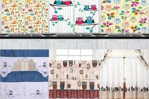 10 Owl-Themed Kitchen Curtains You're Going to Love