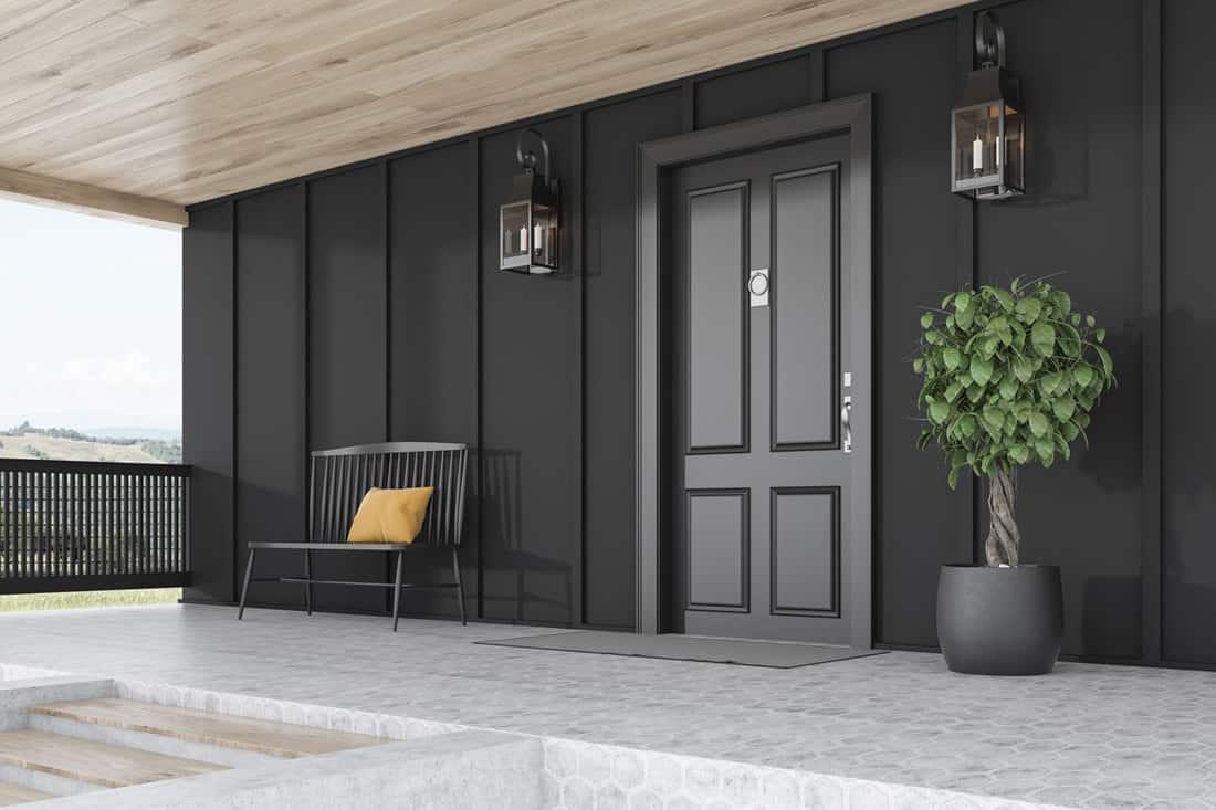 35 Black Front Door Ideas Photo Inspiration Home Decor Bliss