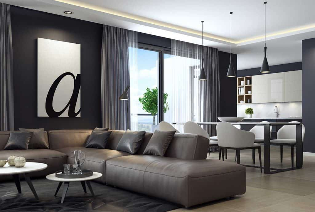 curtain ideas for living room/dining room combos  home