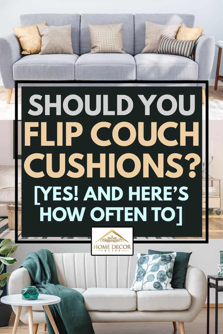 A collage of couch cushion sofas, Should You Flip Couch Cushions? [Yes! and Here's How Often To]