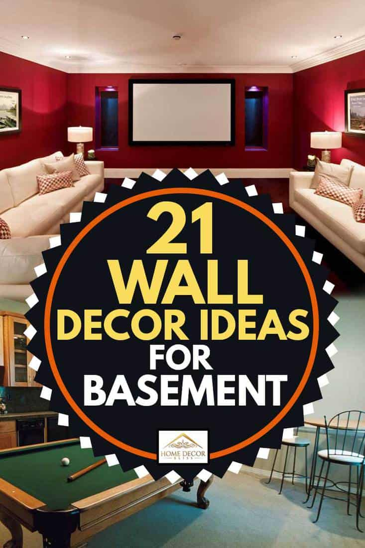 21 Wall Decor Ideas For Basement Home Decor Bliss