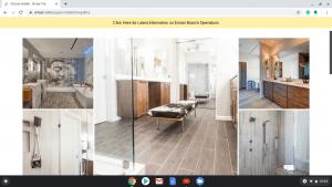 Bathroom tiles online on Emser Tile's page.