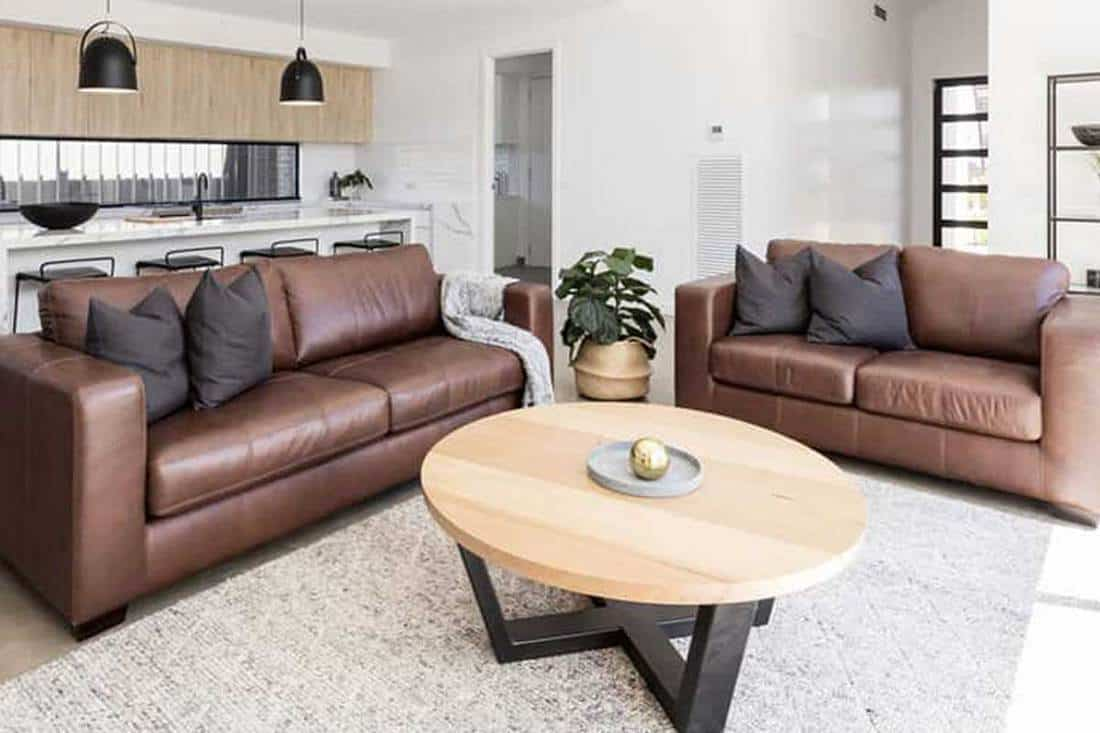 What Color of Rug Goes With a Brown Sofa? - Home Decor Bliss