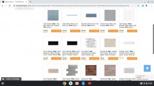 Bathroom tiles online on the builder depot's page.