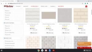 Bathroom tiles online on Tiles bay's page.