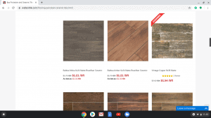 Bathroom tiles online on Wall and Tile's page.