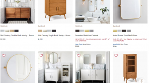 West Elm website product page