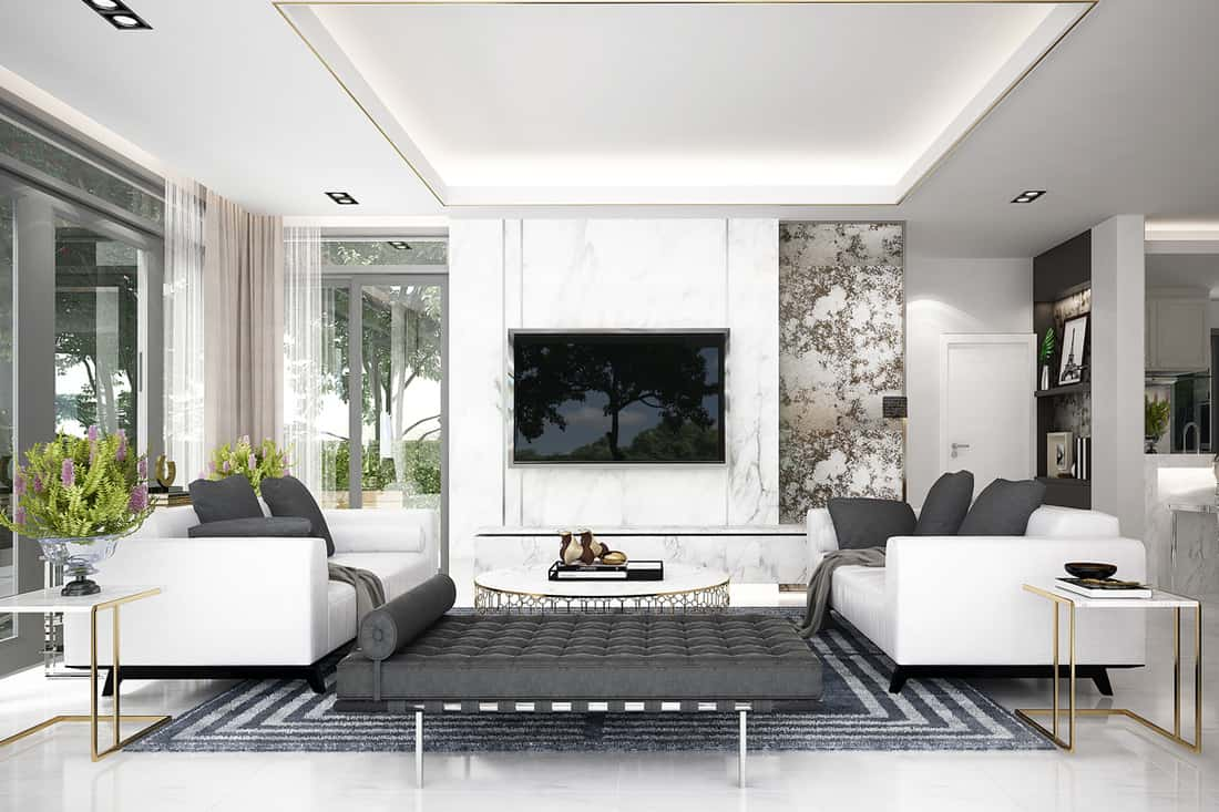How To Arrange Two Sofas In Living Room - Home Decor Bliss