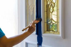 Read more about the article Should You Stain or Paint a Front Door?