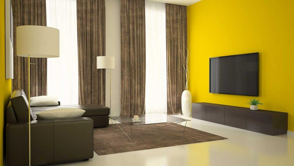 What Curtains Go With Yellow Walls, What Color Walls With Yellow Curtains