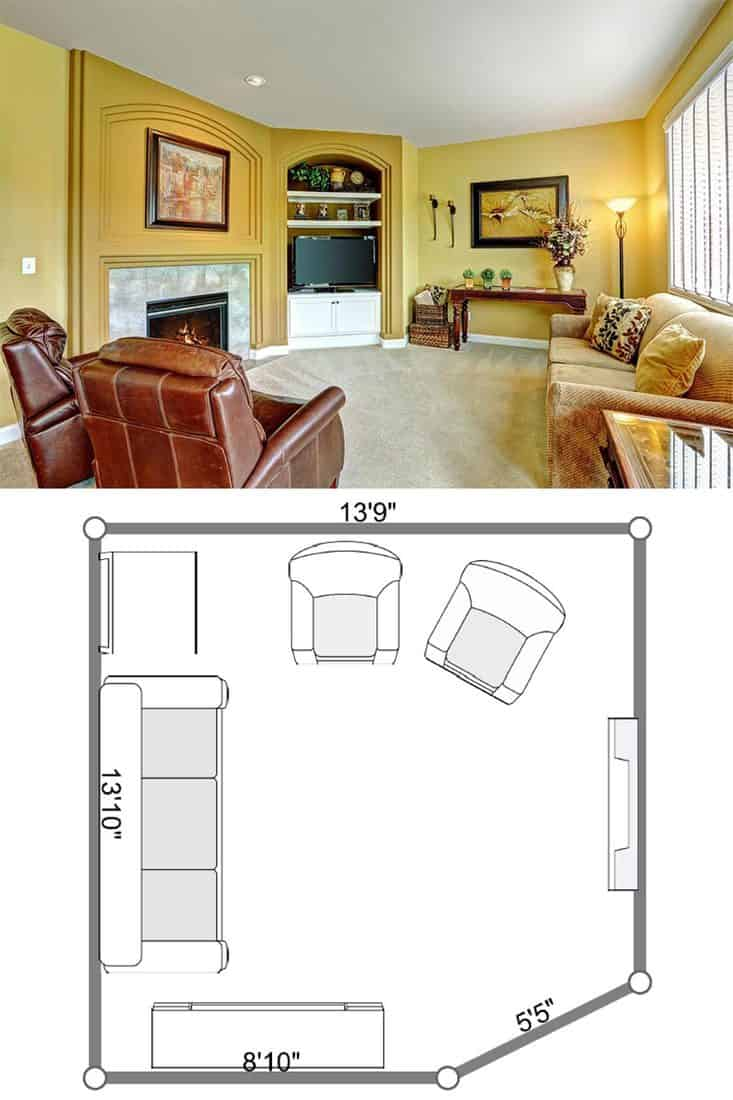 11 Sofa And Two Chairs Living Room Layouts Home Decor Bliss