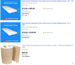 eBay website product page