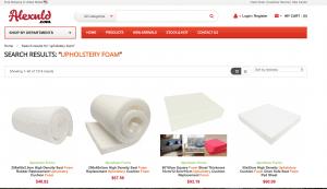 Alexlnd website product page