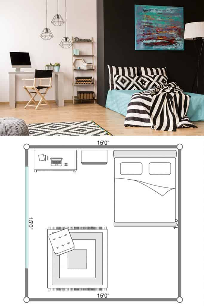 10 Awesome Layouts For A Bedroom With A Desk Home Decor Bliss