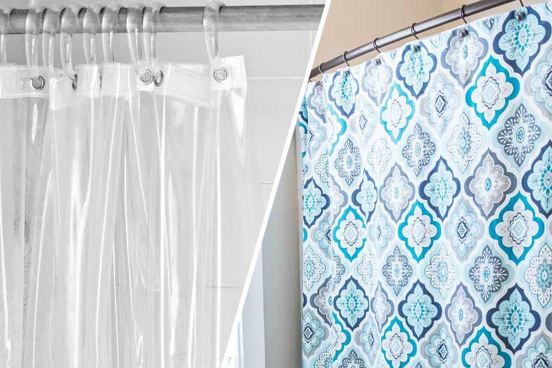 Shower Liner Vs Curtain What S, Correct Way To Use Shower Curtains