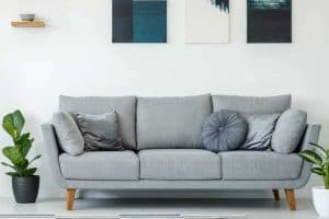 34 Gray Couch Living Room Ideas [Inc. Photos]