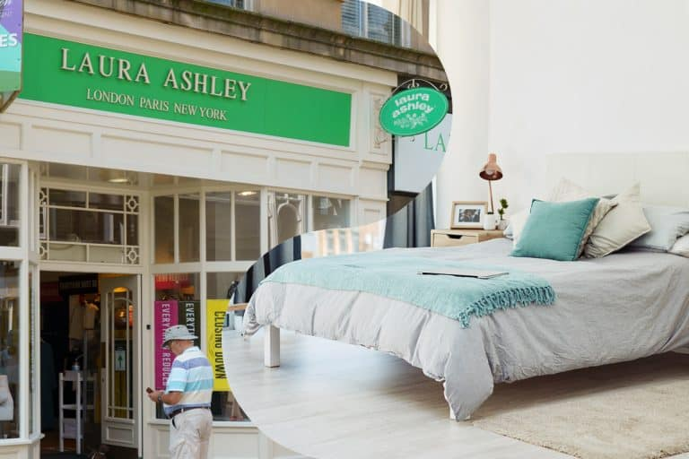 Compiled photo of Laura Ashley and her bedding set products, 10 Awesome Laura Ashley Bedding Sets You Should Check Out