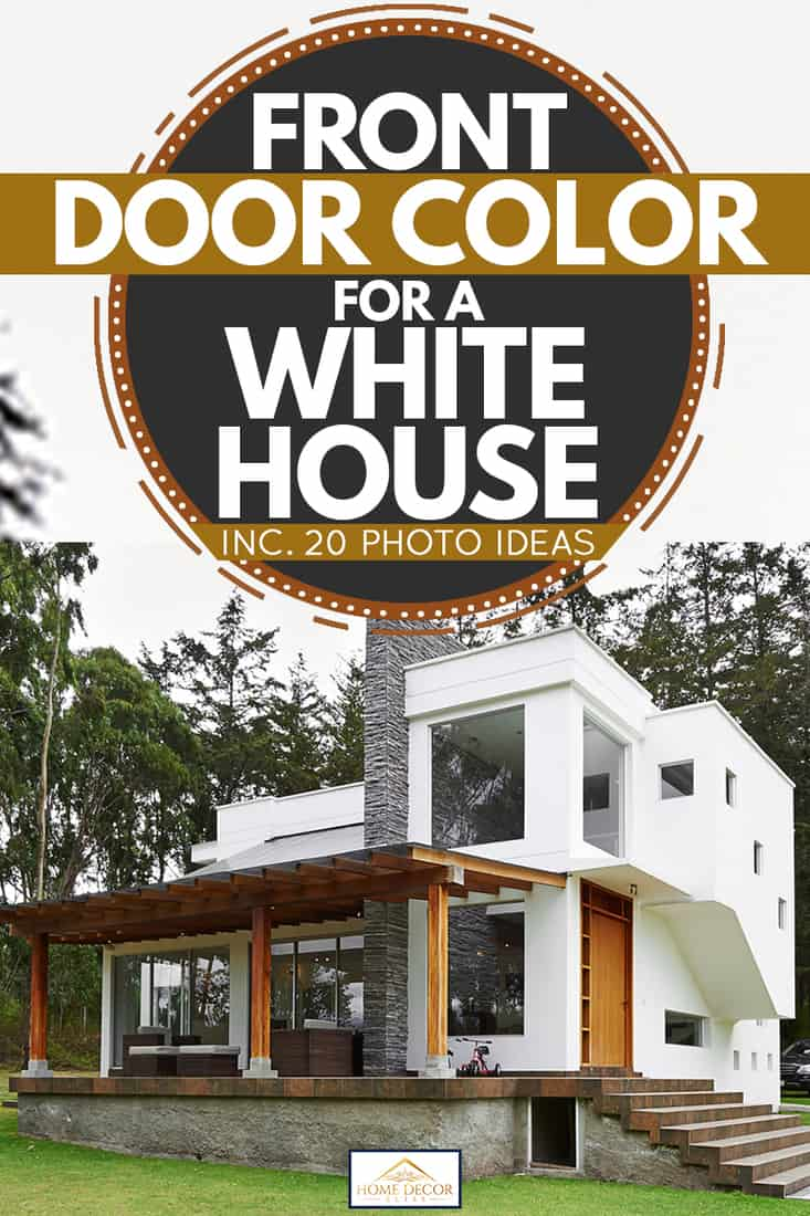 Front Door Color For A White House Inc 20 Photo Ideas Home Decor Bliss
