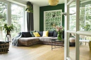 What Curtains Go With Green Walls?