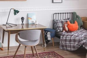 Where To Put a Desk in a Bedroom [6 Options]