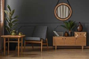 22 Charcoal (Dark Gray) Living Room Ideas [Inc. Design Tips]