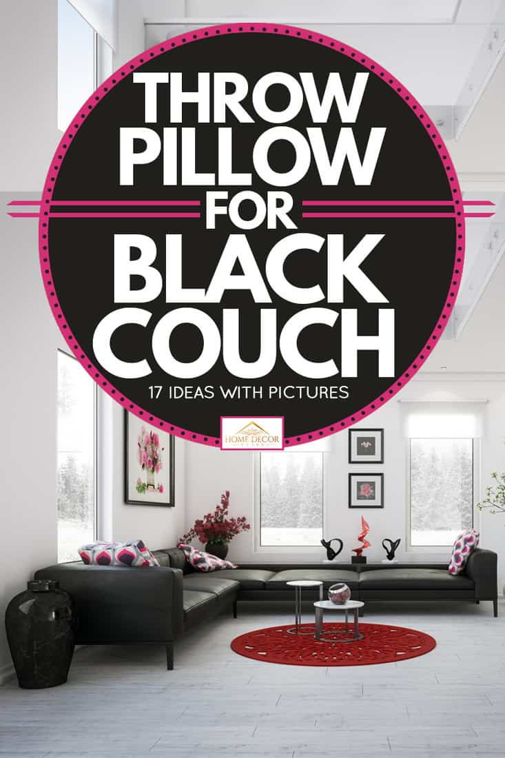 Throw Pillows For Black Couch 17 Ideas With Pictures Home Decor Bliss