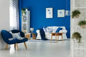 How to Decorate a Room With Blue Walls [5 Actionable Suggestions]